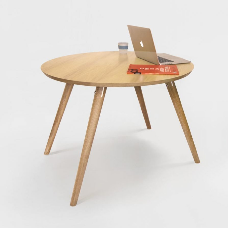 round top version of the tisane dining table