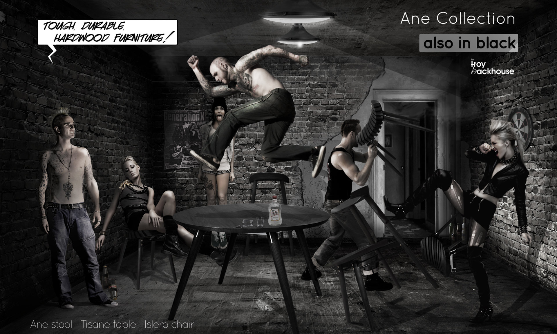 Ane collection black