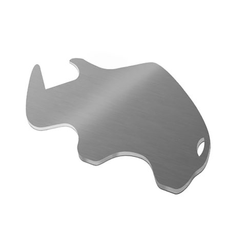 rhino bottle opener